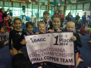 GY Shrewsbury 1st Place Copper States